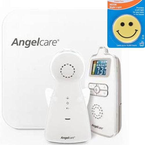 Angelcare Ac403 - Movement and Sound Monitor with Night Light by Angelcare