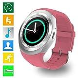 Jingjing1 Children GPS Call Location Finder Locator Tracker Anti Lost Monitor Smartwatch (6-Pink)