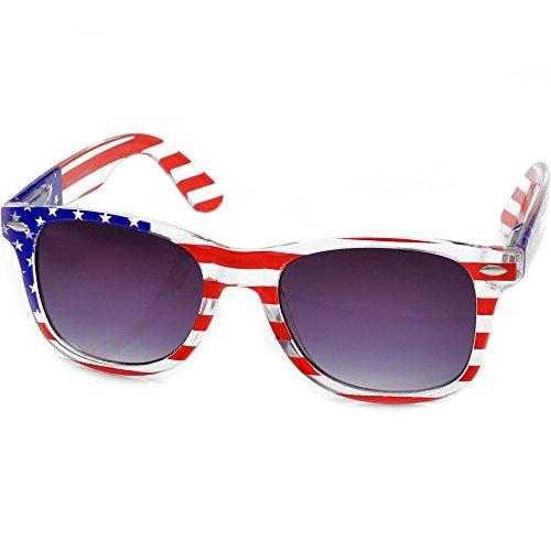 American Flag Wayfarer Sunglasses - Sale Sunglasses Usa
