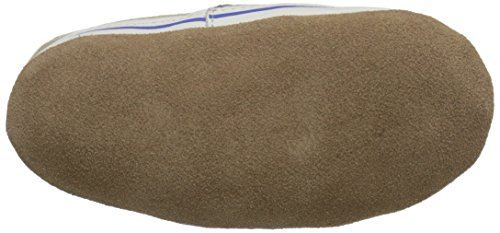 Robeez Liam Soft Sole Crib Shoe (Infant), Taupe, 6-12 Months M US by Robeez (Image #3)