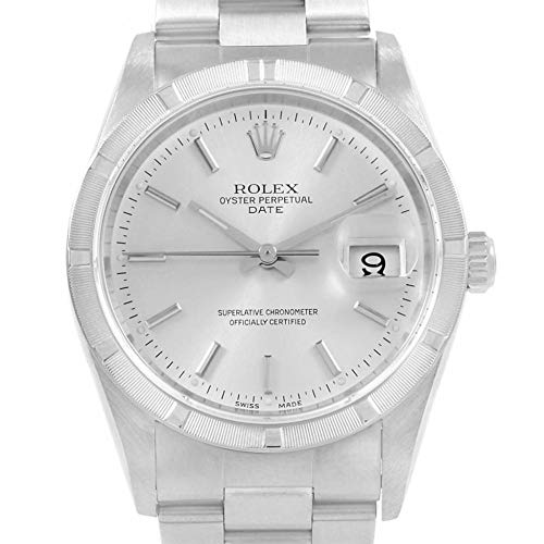 (Rolex Date Automatic-self-Wind Male Watch 15210 (Certified)