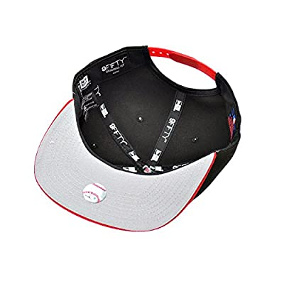 New Era Toronto Blue Jays Snapback Athletic Hat Cap Black/Red 80254571
