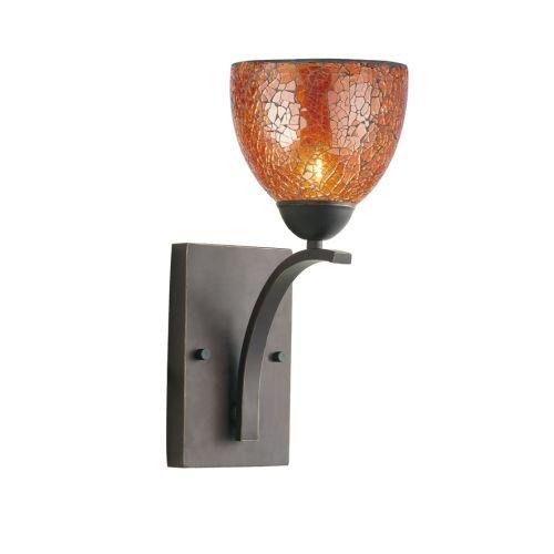 Woodbridge Lighting 13051MEB-M21AMB North Bay Single Light 6'' Wide Bathroom Scon, Metallic Bronze by Woodbridge Lighting