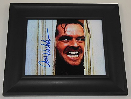the-shining-jack-nicholson-hand-signed-autographed-8x10-glossy-photo-gallery-framed-loa