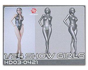 Hobby Design 1//24 Show Girl E 1 Resin Figure