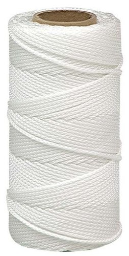 Lehigh BNT12W6 18-Inch by 500-Feet Nylon Braided Mason Line, White Braided Nylon Mason Line