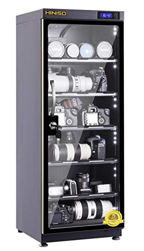 HINISO AD-120S 139 litres Electronic Dry Cabinet with