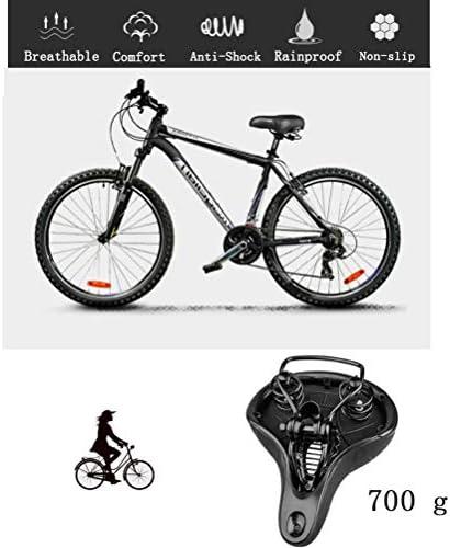 LIOOBO Asiento de Bicicleta para ni/ños c/ómodo reemplazo Almohadilla de sill/ín de Bicicleta para ni/ños Bicicletas de monta/ña Bicicletas de Carretera Negro