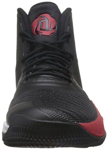 Adidas Herren D Steeg 8 Basketballschuhe Mehrfarbig (core Black / Scarlet / Ftwr Wit)
