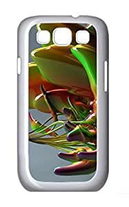 Samsung Galaxy S3 I9300 Cases & Covers - Abstract Glass Art Custom PC Soft Case Cover Protector for Samsung Galaxy S3 I9300 - White