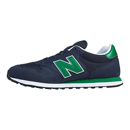 New Sneakers Balance Blu Green da Gm500 Dark Uomo Blau Navy rffqwE