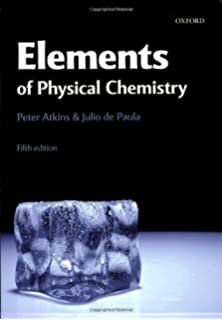 The elements of physical chemistry p w atkins 9780198559542 19 the elements of physical chemistry fandeluxe Image collections