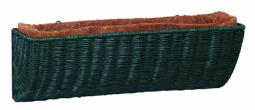 DMC Products 48-Inch Resin Wicker Wall Basket, Hunter ()