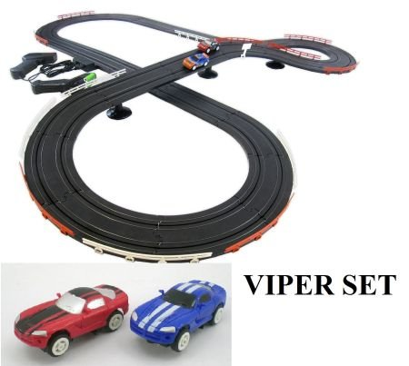 4 Scale Slot Car Racing Track NEW IMPROVED 2017 (Scale Slot Car Parts Controller)