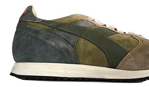 Man Heritage Nocciola Trident Shoes Sneaker Scarpe Verde S Uomo Diadora 90 wSpxcY1Zq