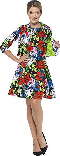 Dress Multi amp; L Suit Dead Size Color Jacket Women's the Day 45951 of Smiffy's xfq0H87w