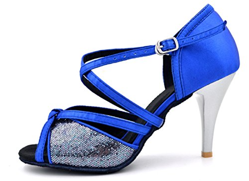 TDA - Zapatos con tacón mujer 8.5cm Blue