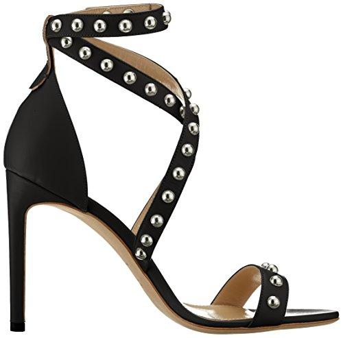 Strap Ankle c Black HUGO 100 Women's Shoreditch Sandal 001 Black qwxwfZXYI