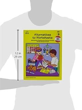 Amazon.com : ALTERNATIVES TO WORKSHEETS GR K-4 : Teachers ...