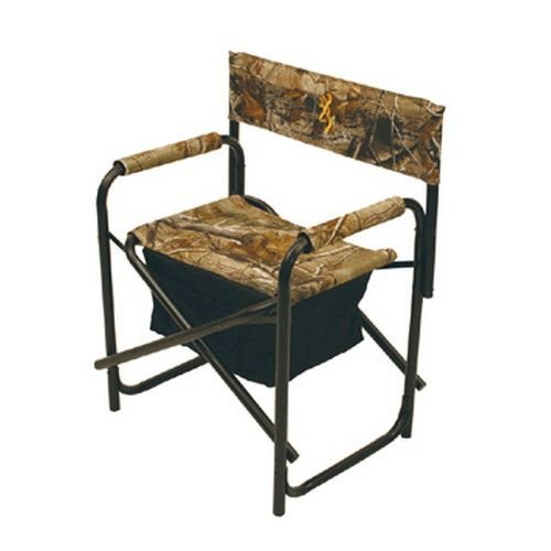 Browning Camping Directors Chair Plus with Insulated Cooler Bag by Browning Camping