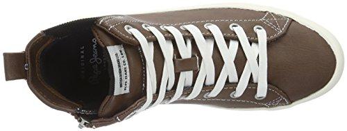 Pepe Jeans Clinton Chelsea - Zapatillas Mujer Marrón - Braun (Capuccino 875)