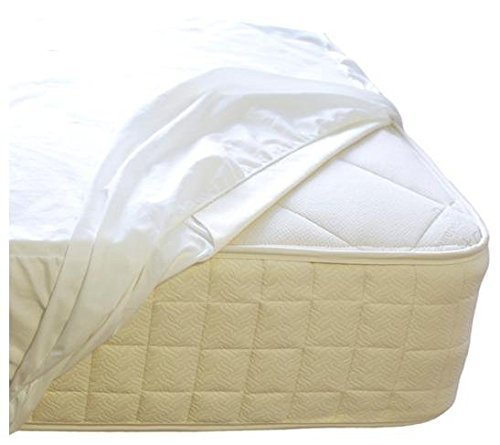 Naturepedic Organic Waterproof Fitted Stretch Knit Protector Pad - Full by Naturepedic