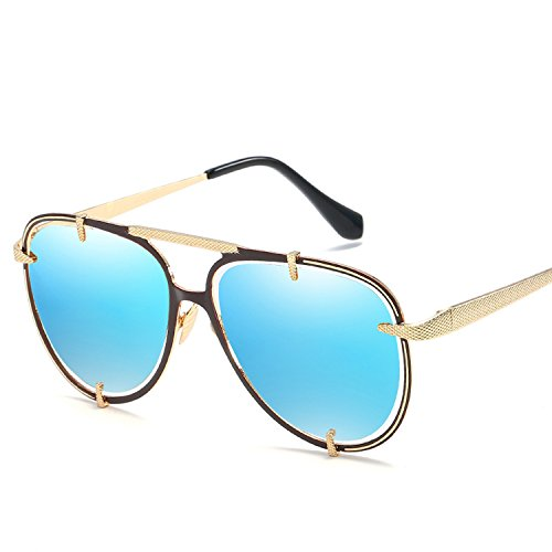 Amazon.com: anteojos de sol de moda europeo anteojos de sol ...