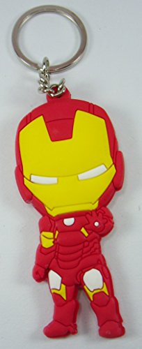 Iron Man Toy Rubber Keychain Figure (2)