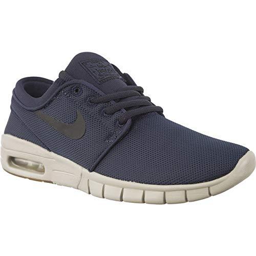 NIKE Stefan Janoski Max (GS) SB Skateboard Shoes 905217 403 Thunder Blue Black (6.5Y)
