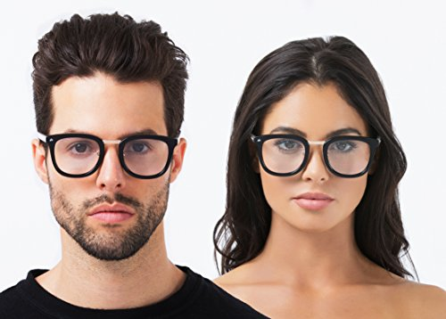 "PRIVÉ REVAUX ""The Alchemist"" [Limited Edition] Handcrafted Designer Eyeglasses For Men & Women (Black)"