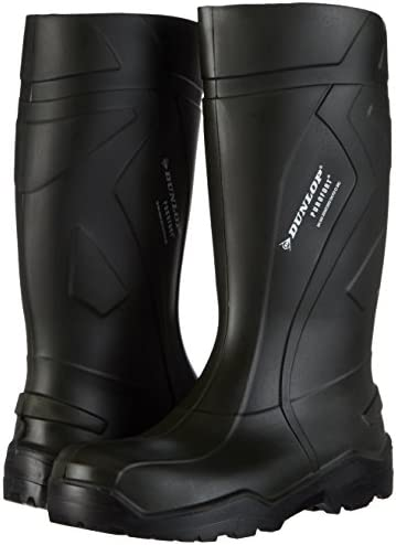 Ejendals 760933-37 Occupational Boots Dunlop 760933 Purofort Size 37, Green/Black