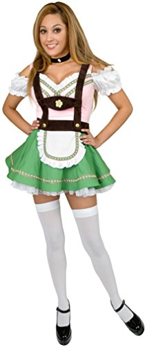 Bavarian Beer Garden Girl Costume - Plus Size 3X - Dress Size 26-30 (Beer Garden Girl Costume)
