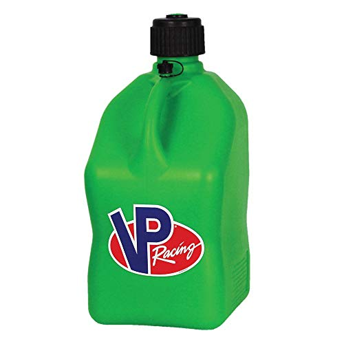 4 Pack VP 5 Gallon Square Green Racing Utility Jugs by VP Fuels (Image #1)