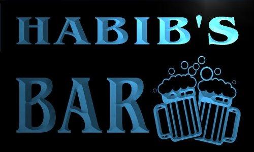 w008852-b-habibs-name-home-bar-pub-beer-mugs-cheers-neon-light-sign