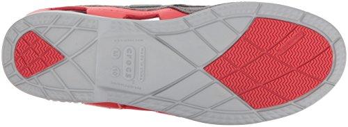 crocs Crocs Retro Clog - Zuecos de material sintético unisex Azul (Navy/Red)