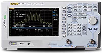 Rigol DSA815-TG-EMI+Probes Spectrum Analyzers - Bandwidth Range Max: 1.5 Ghz, Bandwith Range Min: 9 kHz, Noise Floor: -155 dB