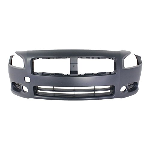 MBI AUTO – Painted To Match, Front Bumper Cover Fascia Replacement for 2009-2014 Nissan Maxima 09-14, NI1000258