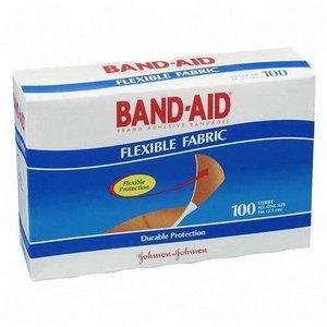 Band-Aid Flexible Fabric Adhesive Bandages 3/4