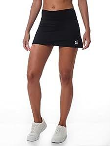 a9ba0dccb a40grados Sport & Style Fussion Basic Falda Corte evasé, Mujer ...