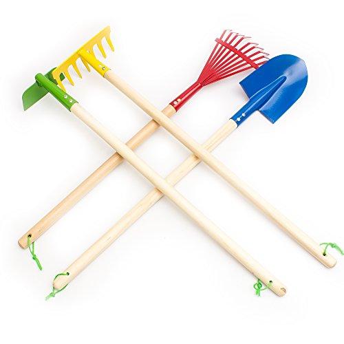 Fun Central AY757 29 Inch Kids Garden Tool Set – 4 Pieces