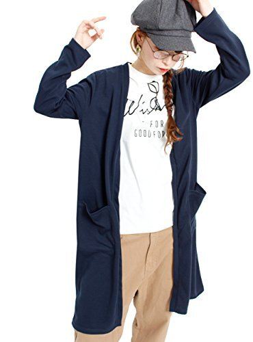 (Goldjapan) ゴールドジャパン 大きいサイズ レディース 2点セット ゆったり カットソー ロングカーディガン Tシャツ 長袖