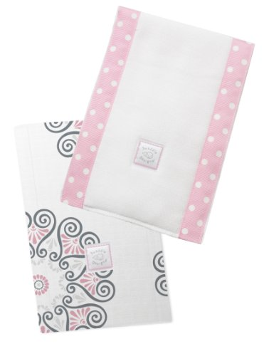 SwaddleDesigns Burpies Cotton Cloths Medallions