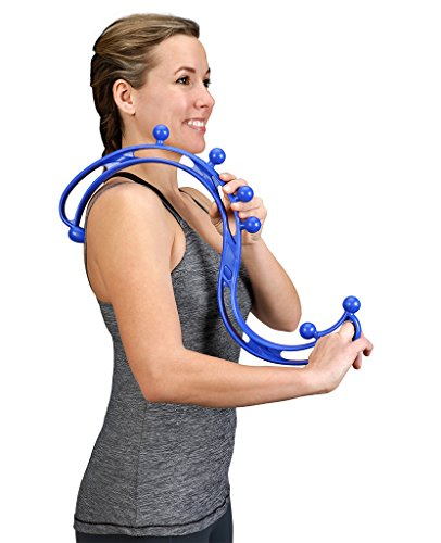 BackJoy Trigger Point Back Massager, Back Massager, Neck Massager, Collapsible Muscle Massager