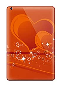 Hot 2693232J78014601 Waterdrop Snap-on Couple Hearts Case For Ipad Mini 2
