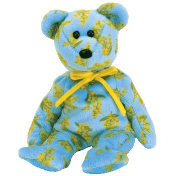 ed8dd7bdd37 Image Unavailable. Image not available for. Color  TY Beanie Baby - OCKER  the Bear (Asia-Pacific Exclusive)