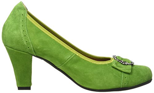 Hirschkogel by Andrea Conti 3009226, Women's Ankle Strap Pumps Grün (Grasgrün 199)