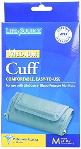Amazon.com: LifeSource Tensiómetro digital Cuff Adulto ...