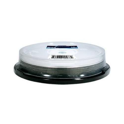 OPTICAL QUANTUM OQBDRDL06ST-10 50GB Write Once 6X BD-R DL Dual Layer Silver Top - 10-PK