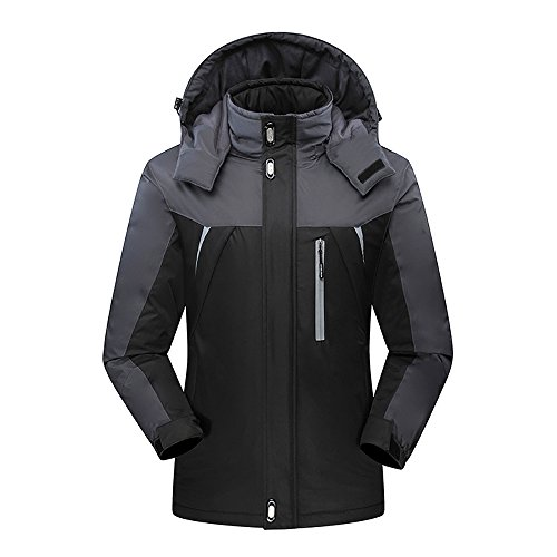 Black Snowboarding Jacket - 6