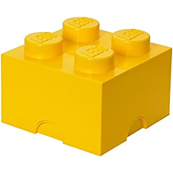 Bon LEGO Storage Brick 4 Bright Yellow